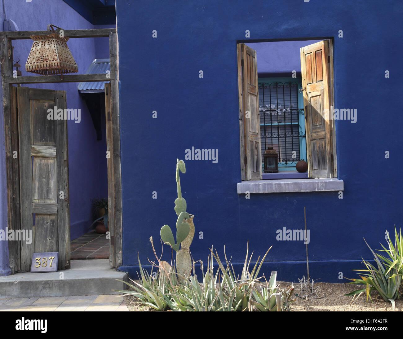 Mexican Theme Doors And Windows, Tucson Arizona