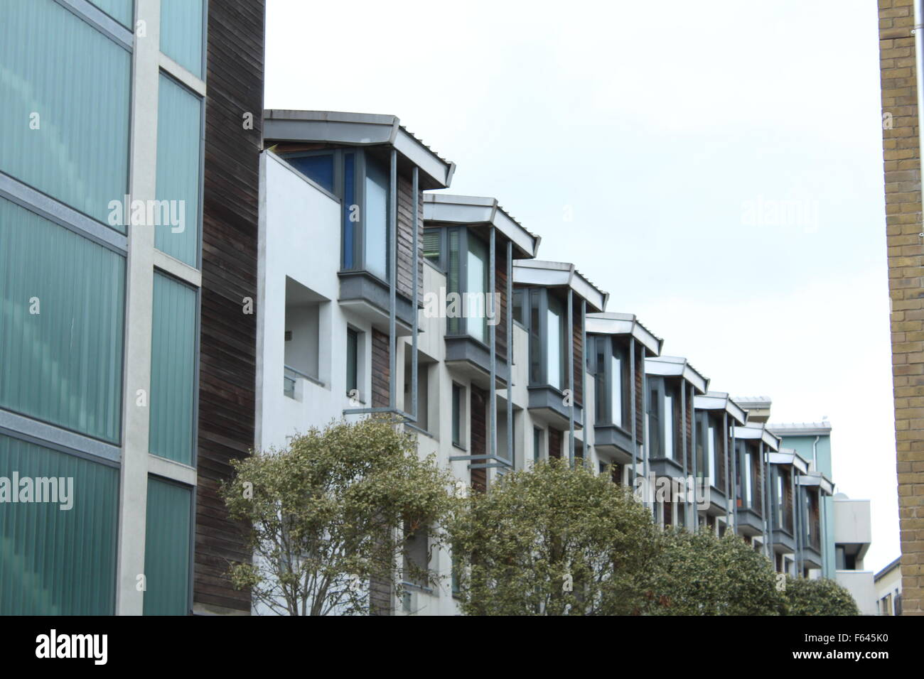 building windows repetition - Stock Image