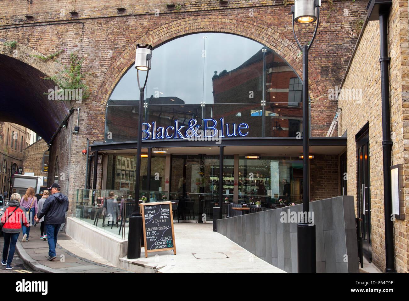 The Black & Blue restaurant, Rochester Walk, Borough ... - photo#8