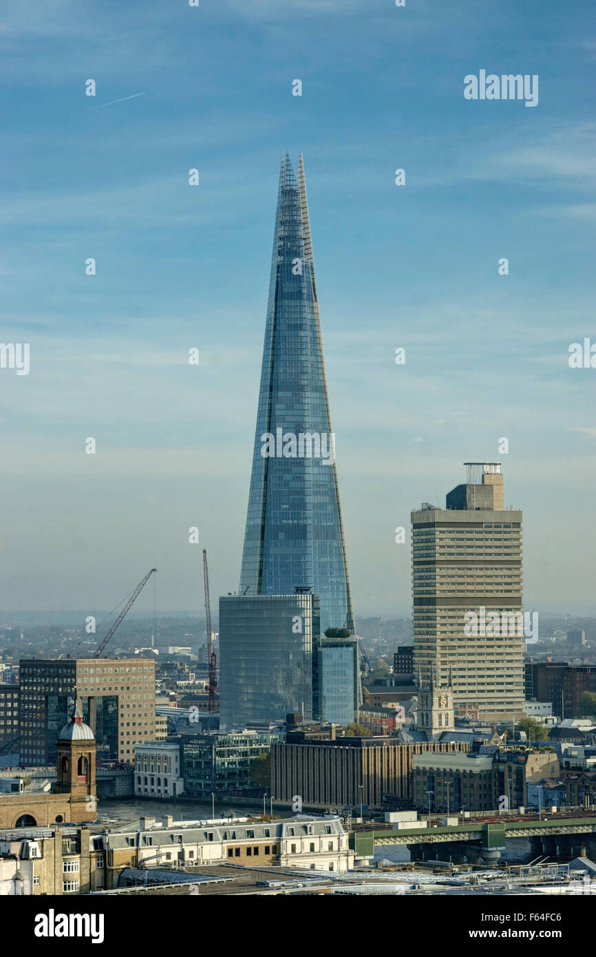 The Shard, London  tall building - Stock Image