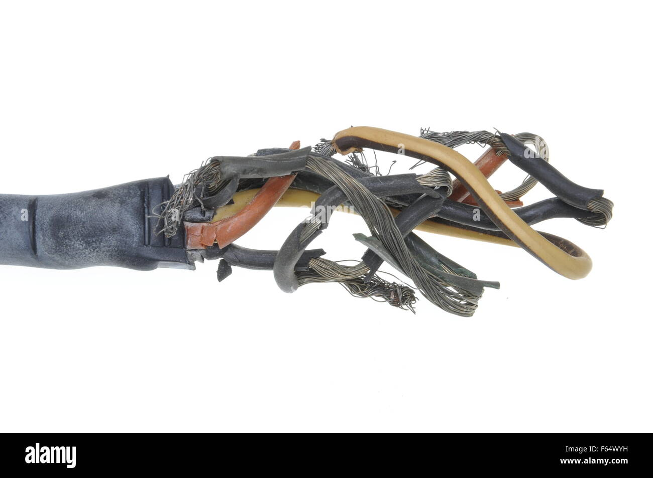 Burnt Electrical Wire Stock Photos & Burnt Electrical Wire Stock ...