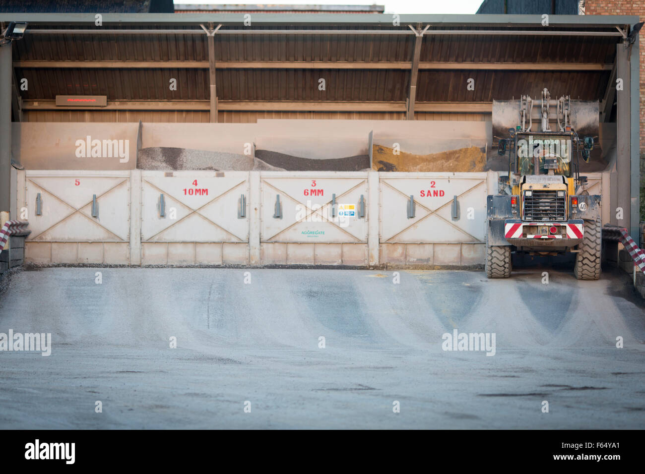 Aggregate Industries Express Asphalt Plant in Doncaster - Stock Image