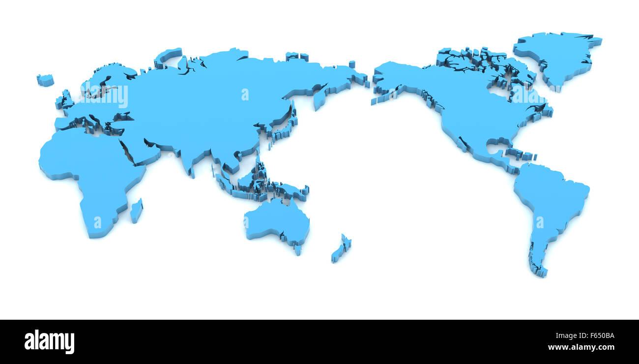 World Map 3d Model.World Map 3d Stock Photos World Map 3d Stock Images Alamy