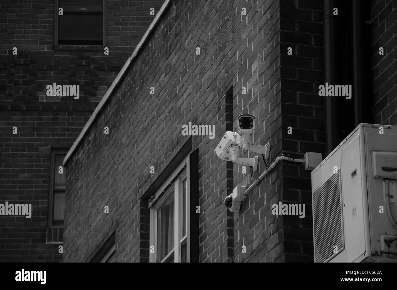 Surveillance or security CCTV camera Stock Photo