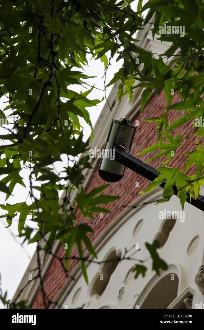 Surveillance or security CCTV camera - Stock Image