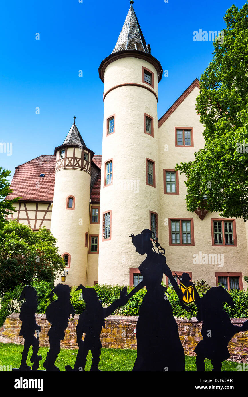 The spessart museum snow white castle in lohr am main for Ps tischdesign lohr am main