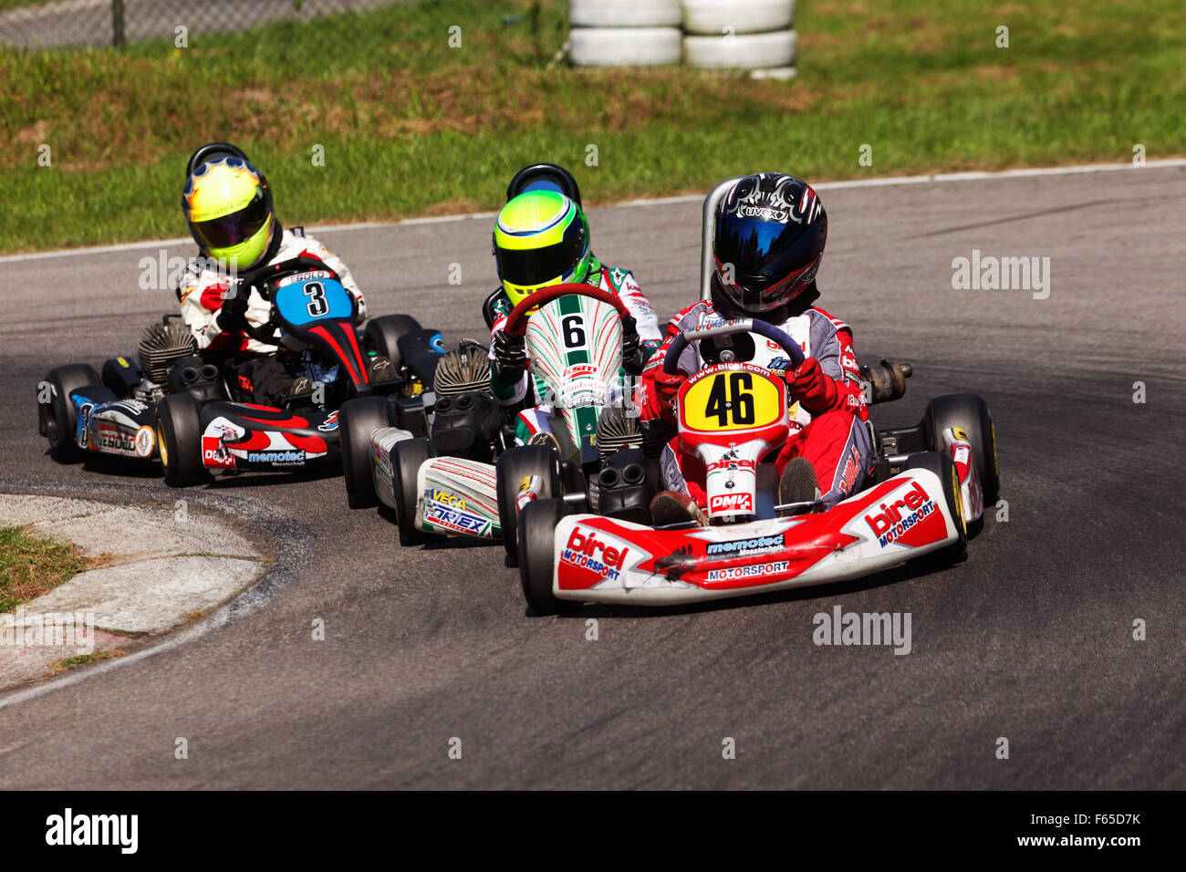 Mick Betsch (No.6), KSM Racing Team, Bambini A, Urloffen, Germany - Stock Image