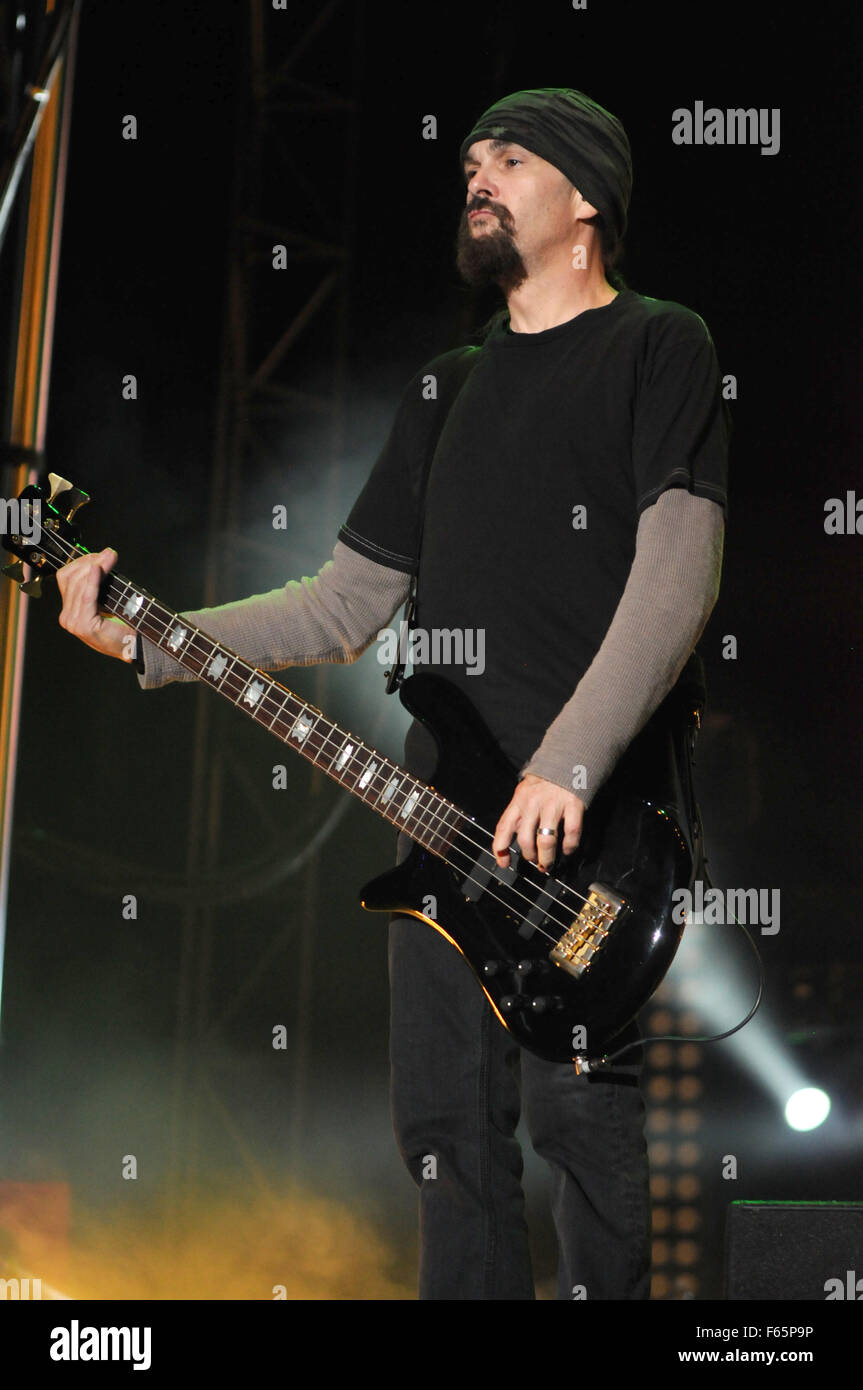 Louder Than Life Festival - Day 1 - Performances  Featuring: Godsmack Where: Louisville, Kentucky, United States Stock Photo
