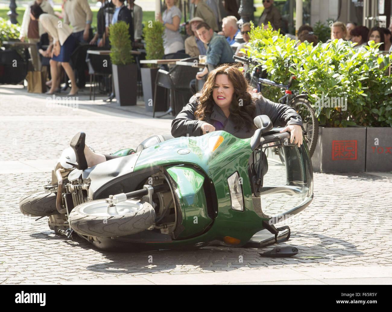 Spy Year : 2015 USA Director : Paul Feig Melissa McCarthy - Stock Image