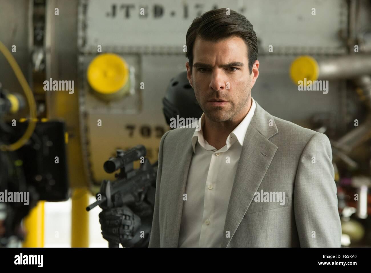 Hitman: Agent 47  Year : 2015 USA / Germany Director : Aleksander Bach Zachary Quinto - Stock Image
