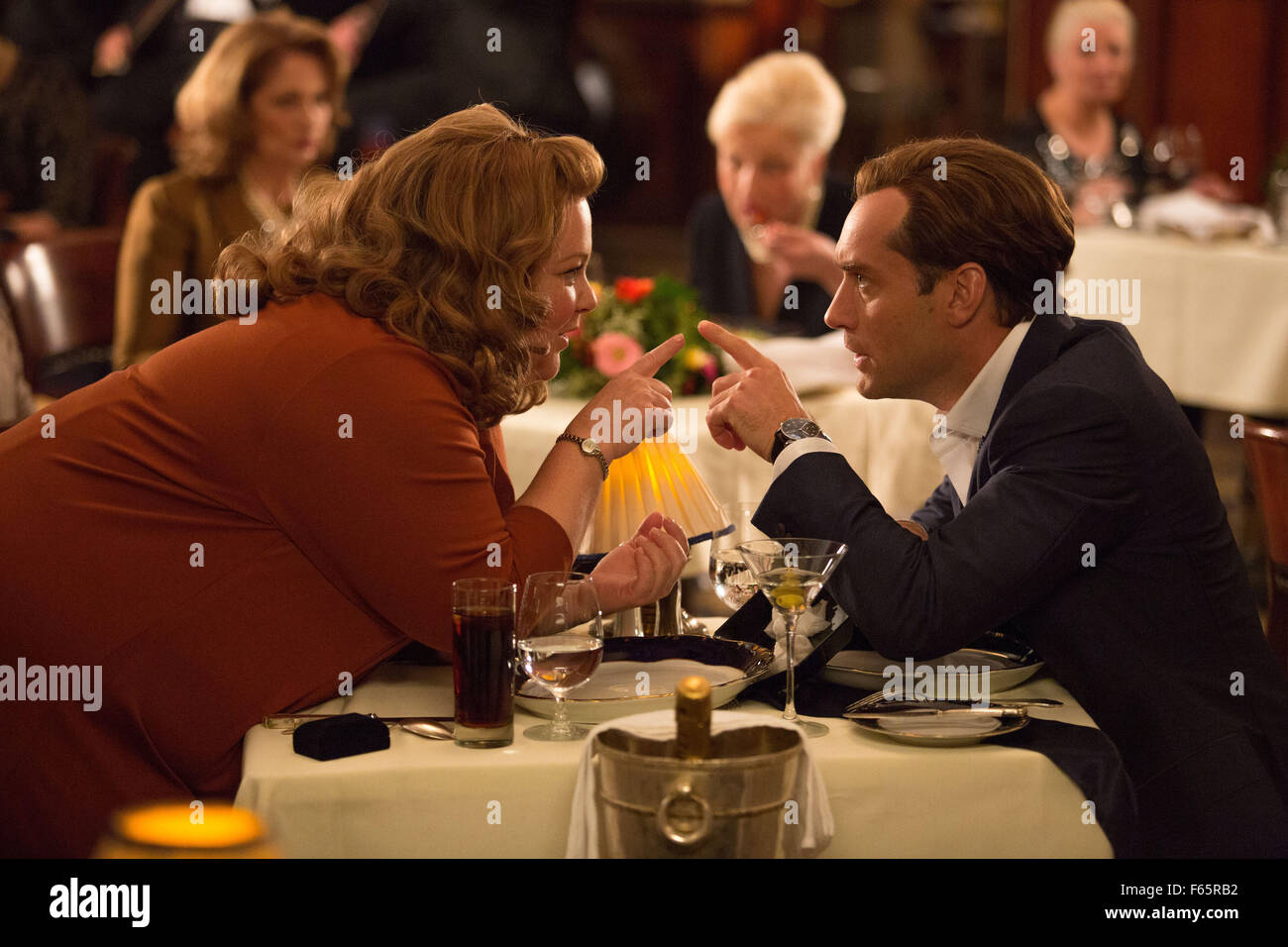 Spy Year : 2015 USA Director : Paul Feig Melissa McCarthy, Jude Law - Stock Image