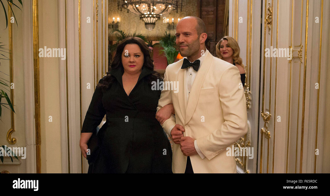 Spy Year : 2015 USA Director : Paul Feig Melissa McCarthy, Jason Statham - Stock Image