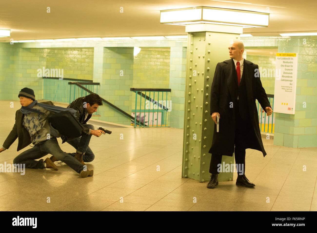 Hitman: Agent 47  Year : 2015 USA / Germany Director : Aleksander Bach Rupert Friend - Stock Image