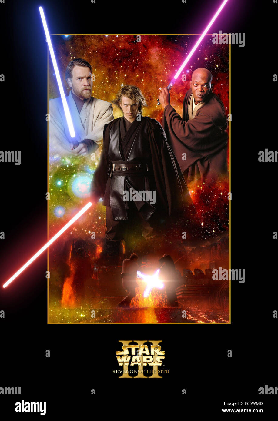 Star Wars Episode 3 Revenge Of The Sith Year 2005 Usa Director Stock Photo Alamy