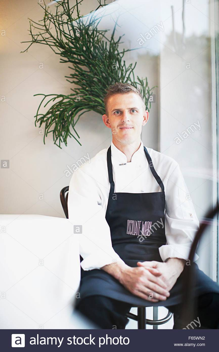 Head chef Karl Firla of the 'Oscillate Wildly', Sydney - Stock Image