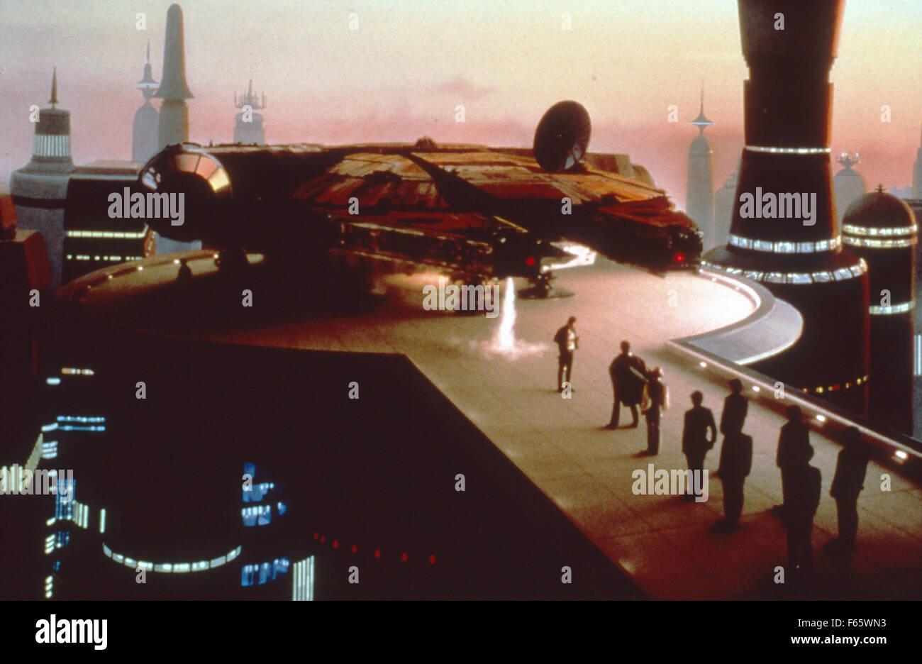 Star Wars: Episode V - The Empire Strikes Back  Year : 1980 USA Director : Irvin Kershner - Stock Image