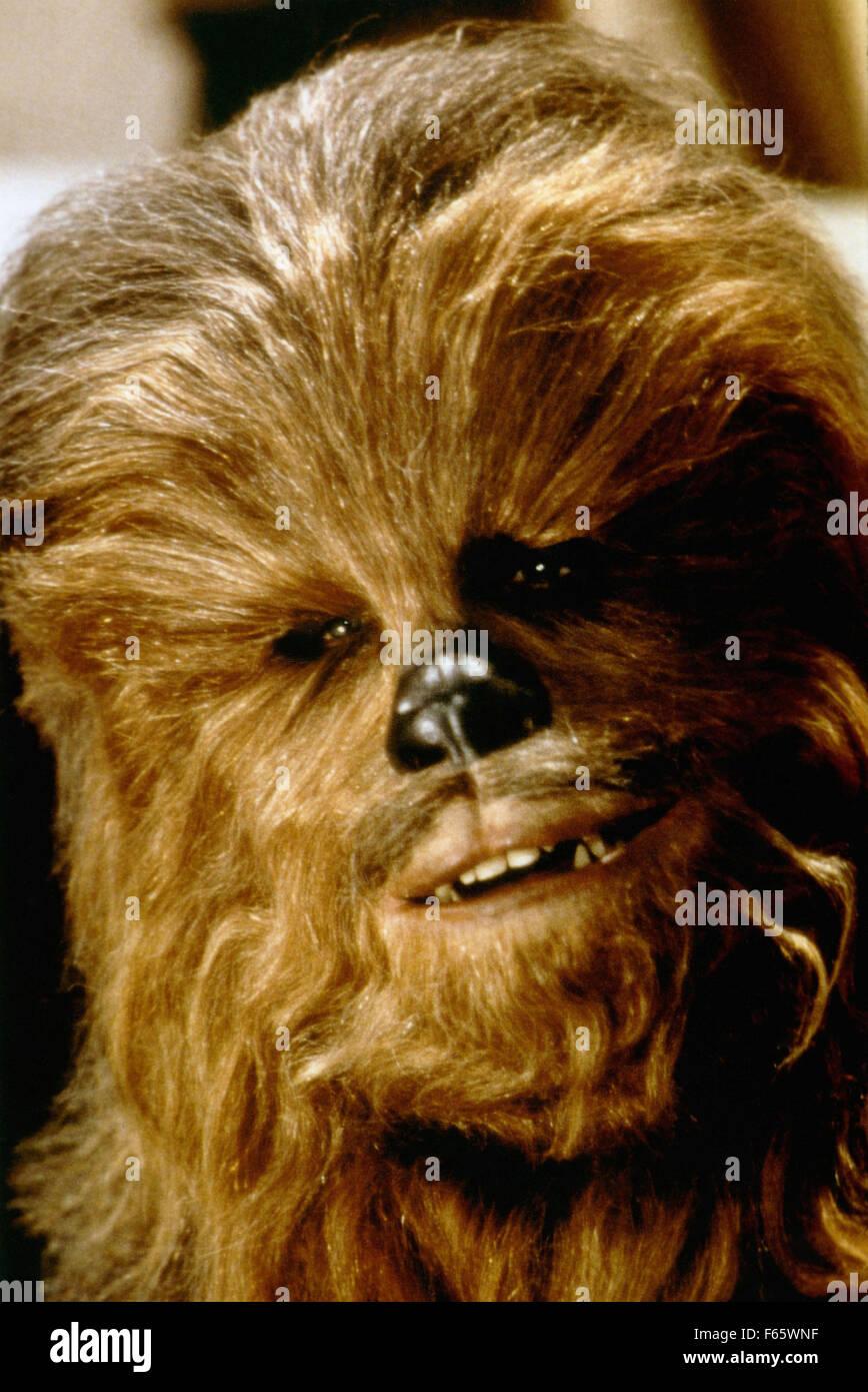 Star Wars: Episode V - The Empire Strikes Back  Year : 1980 USA Director : Irvin Kershner Peter Mayhew - Stock Image