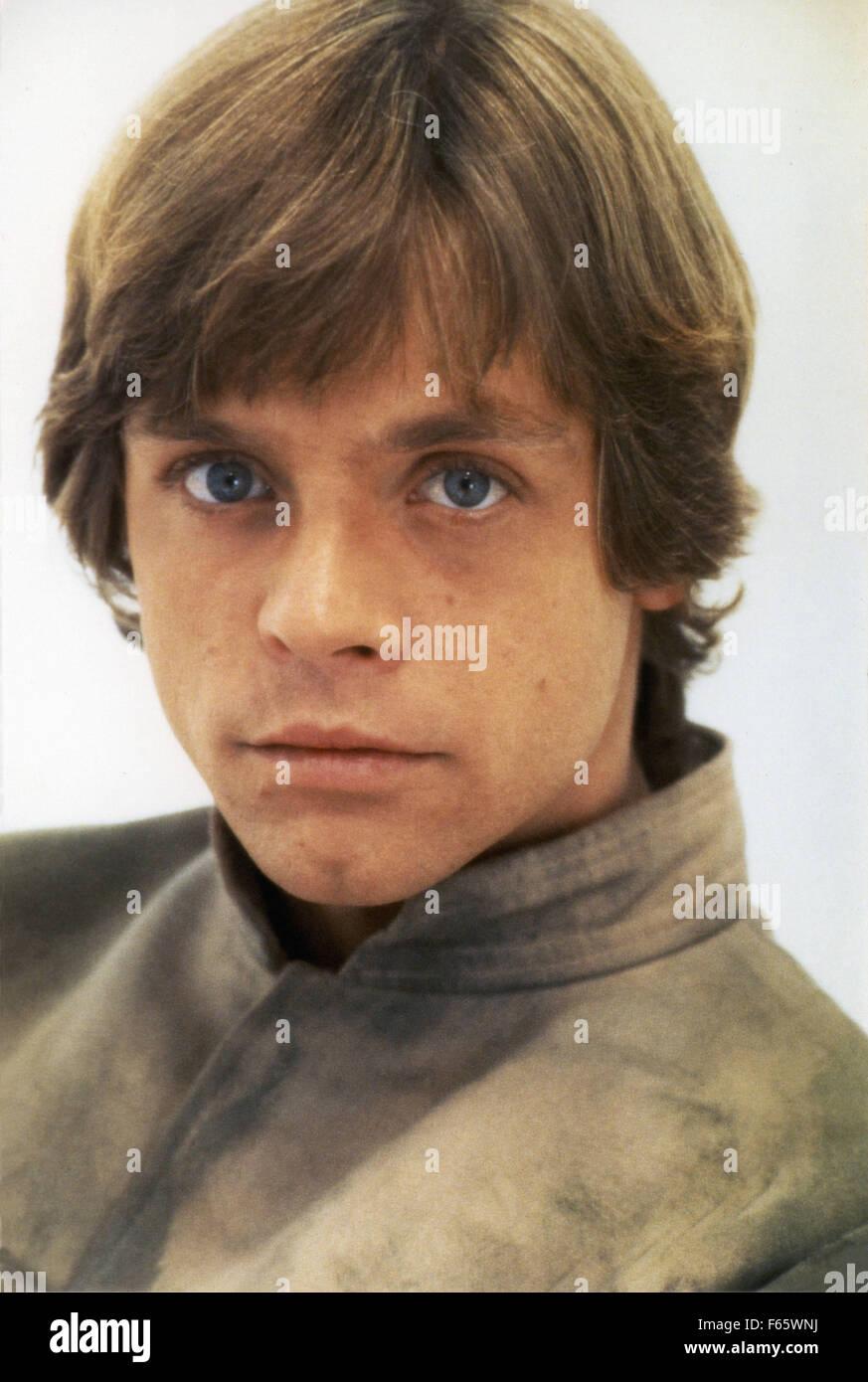 Star Wars: Episode V - The Empire Strikes Back  Year : 1980 USA Director : Irvin Kershner Mark Hamill - Stock Image
