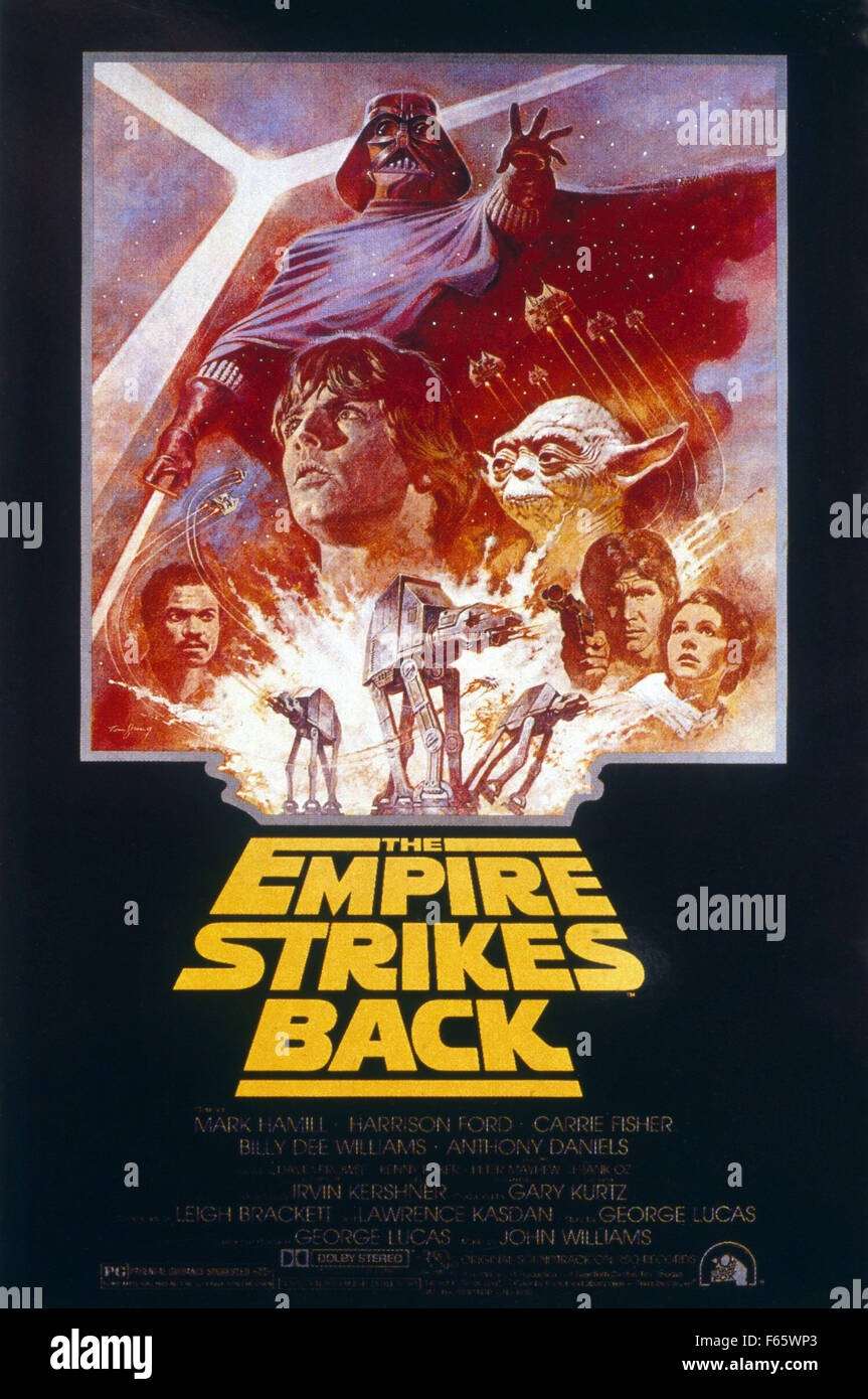 Star Wars Episode V The Empire Strikes Back Year 1980 Usa Stock Photo Alamy