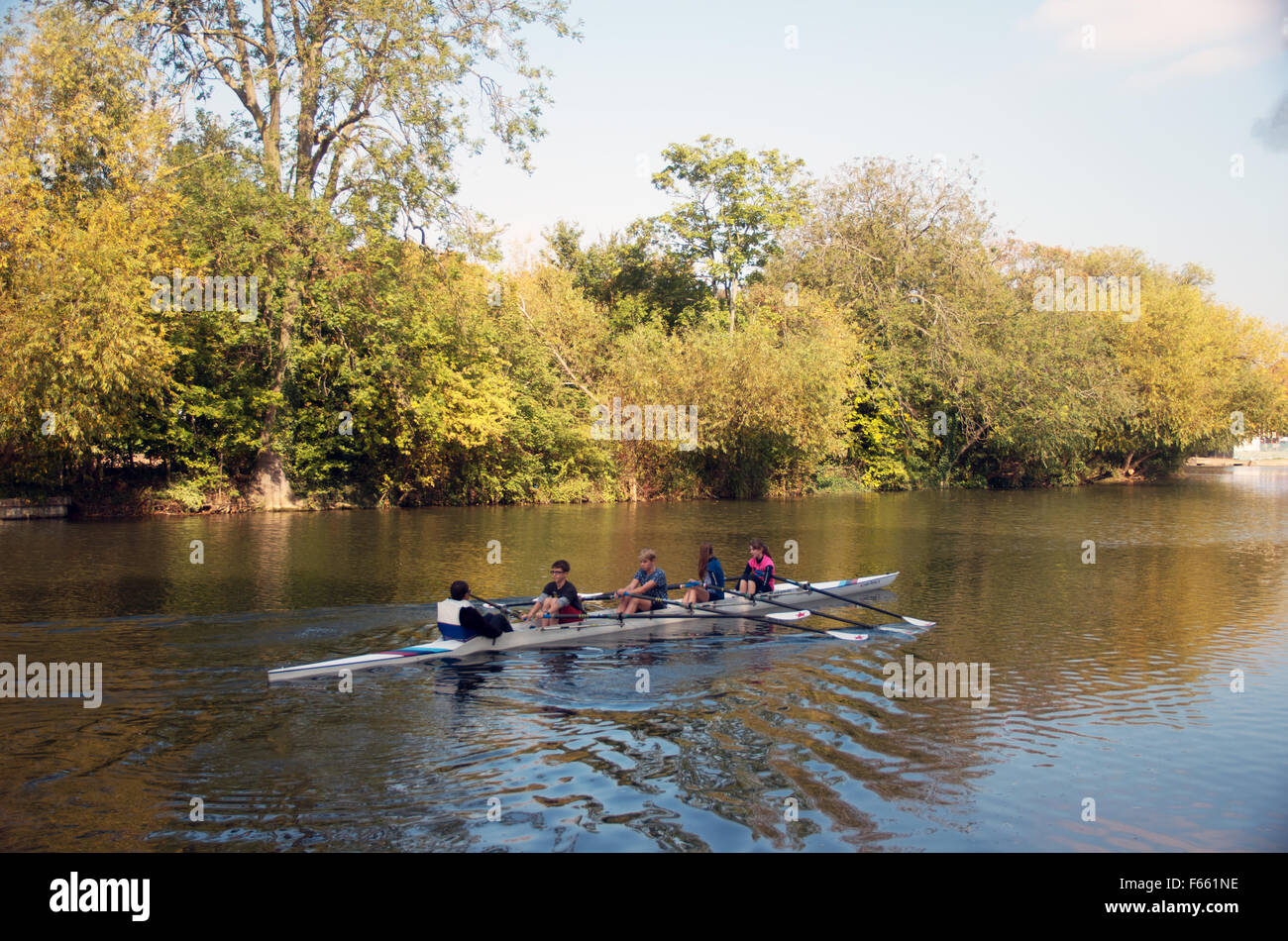 Great Ouse Rowing Stock Photos & Great Ouse Rowing Stock ...