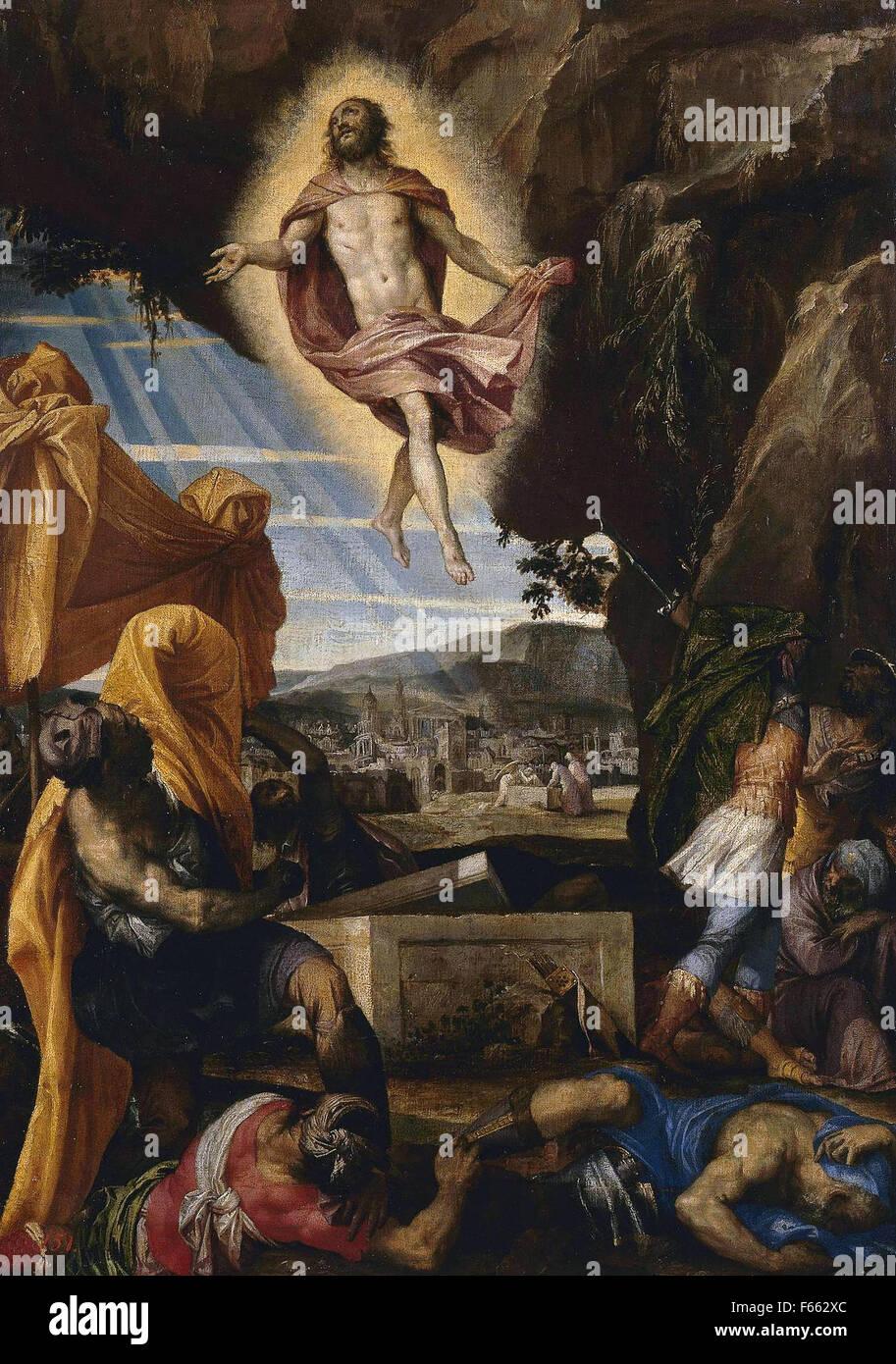 Paolo Veronese - Resurrection of Christ - Stock Image