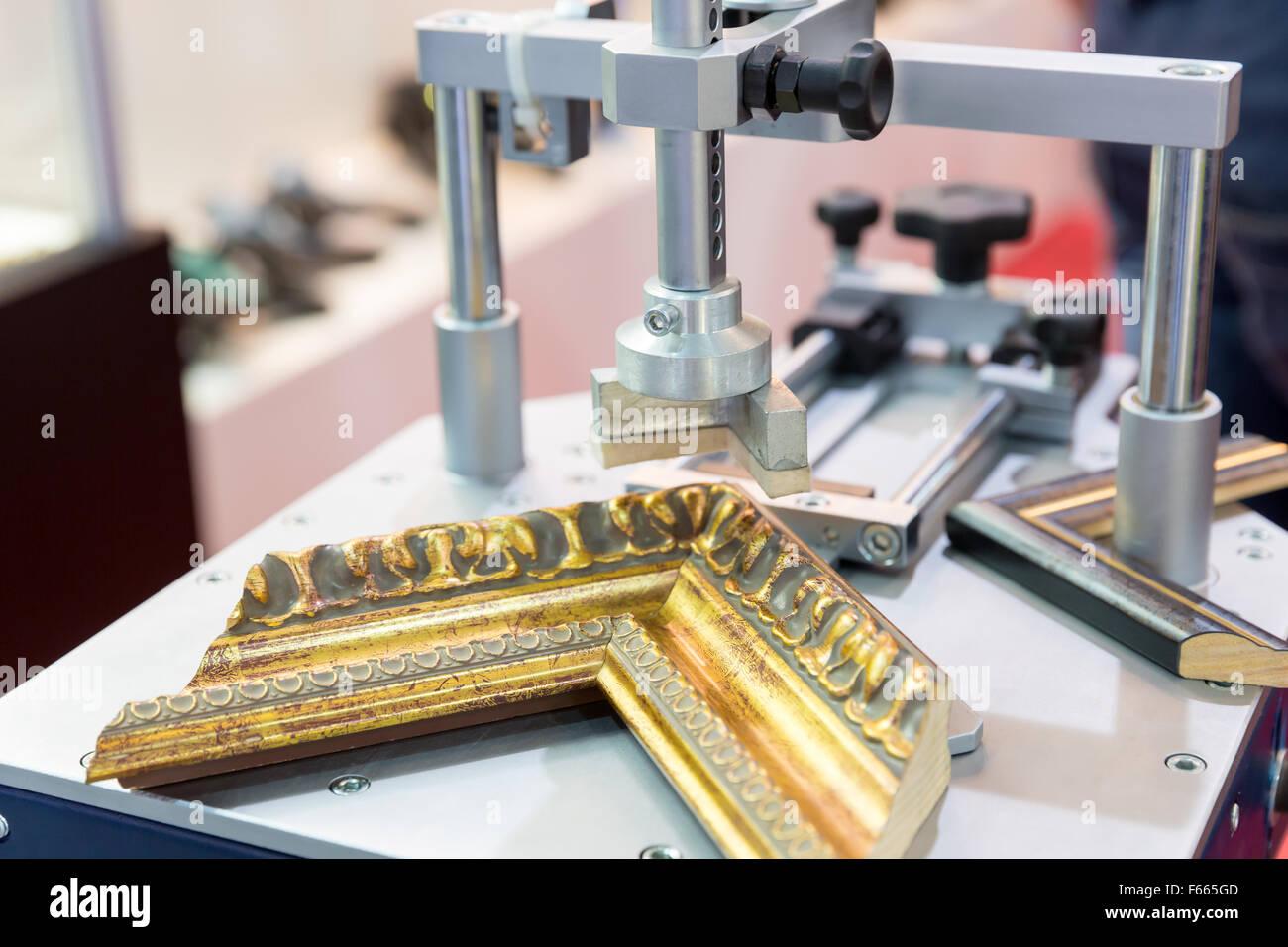 Photo frame making tools closeup Stock Photo: 89875869 - Alamy