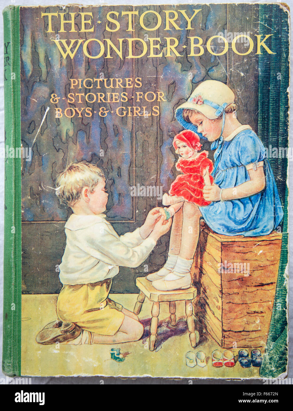 1930s childrens story book, England, UK - Stock Image