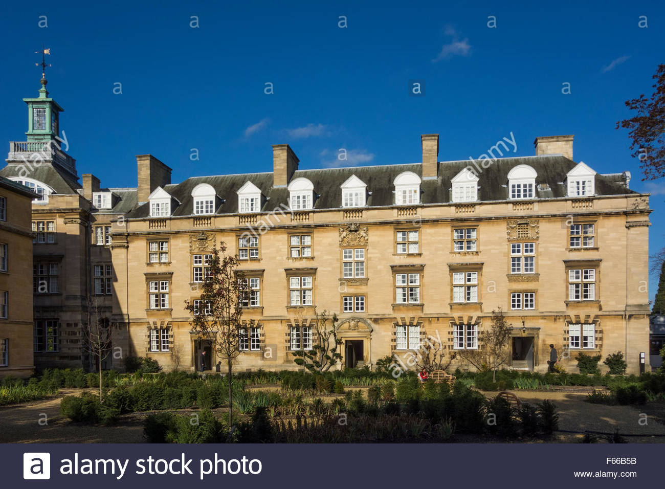 Third Court, Christ's College, Cambridge, England, UK - Stock Image