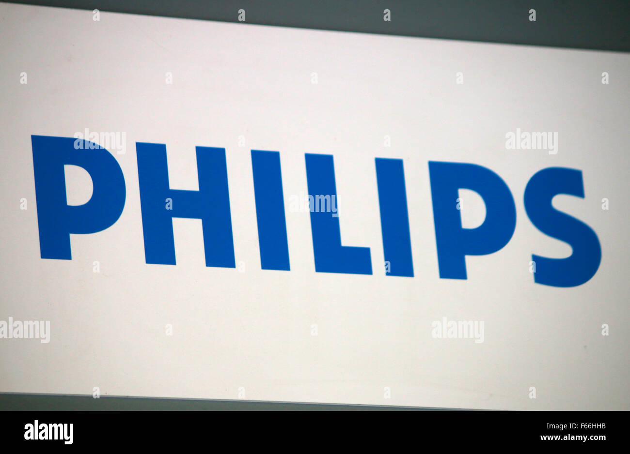 Markennamen: 'Philips', Berlin. - Stock Image