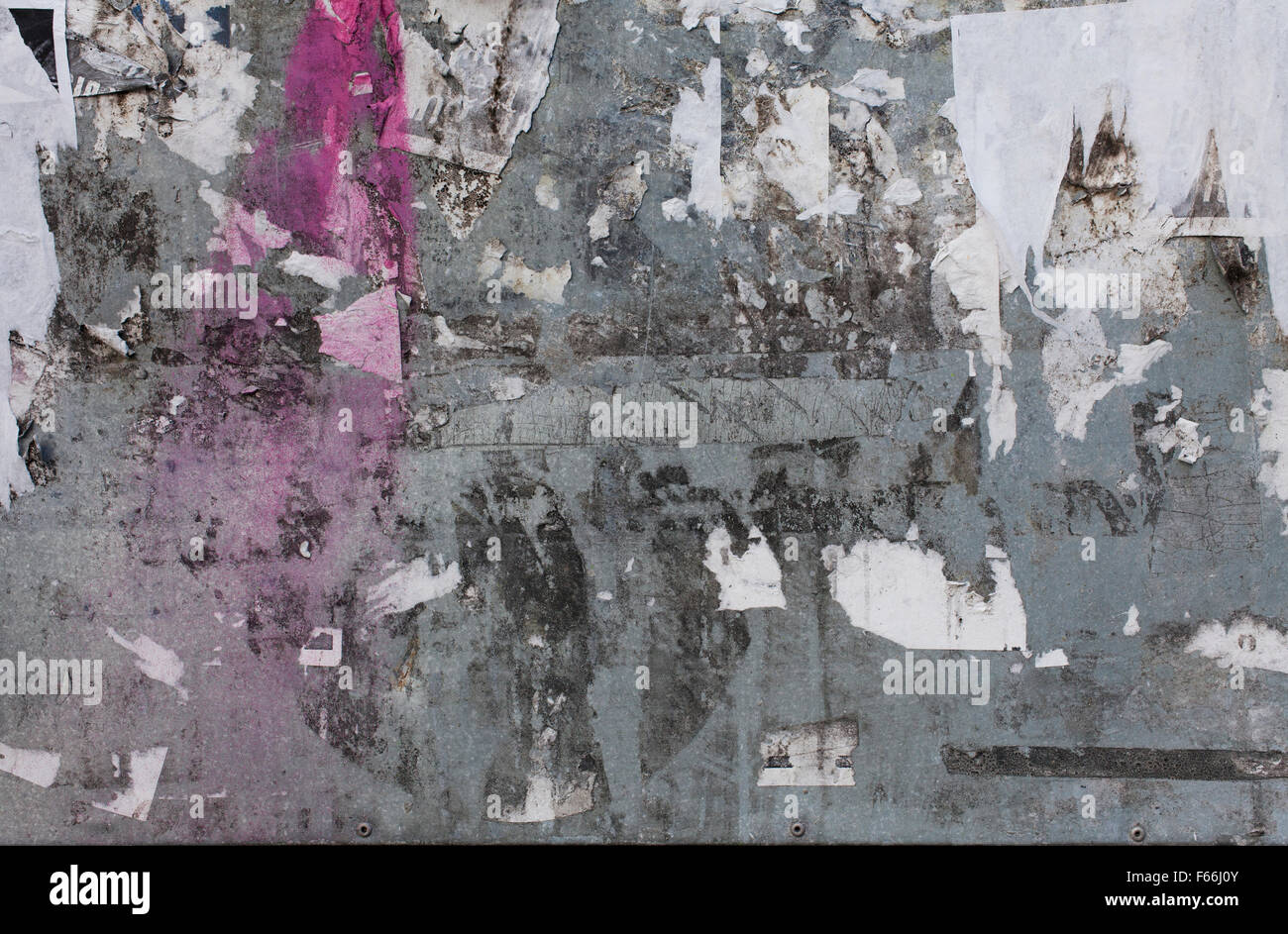 Grunge wall poster background - Stock Image