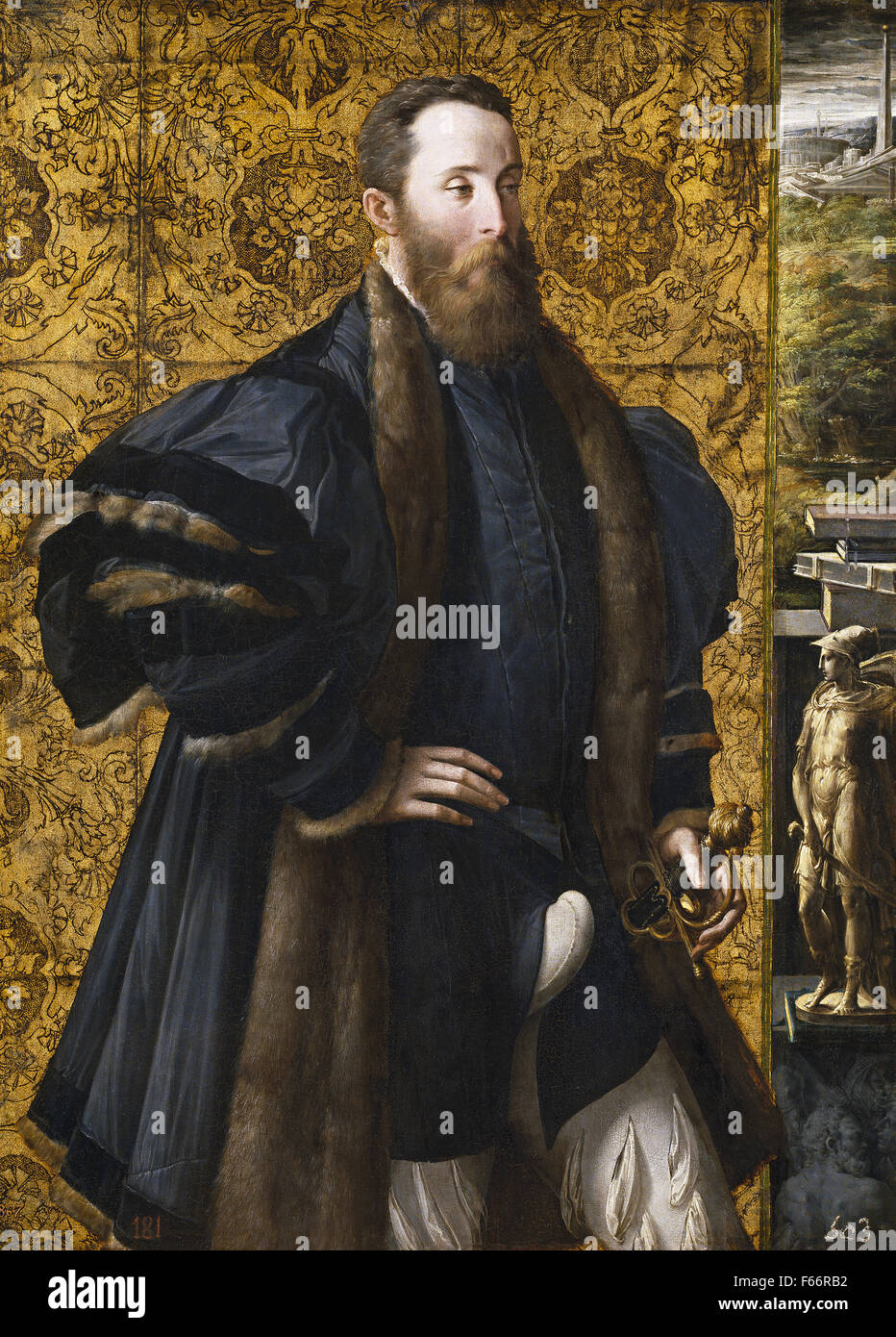 Pedro Maria Rossi, or Roscio, Count of San Secondo - Stock Image