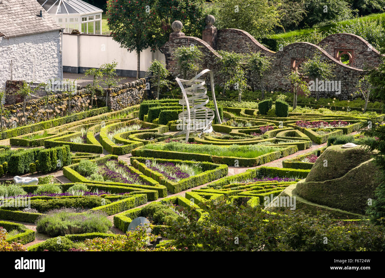 the garden of cosmic speculation dumfries scotland by charles stock photo 89895145 alamy. Black Bedroom Furniture Sets. Home Design Ideas