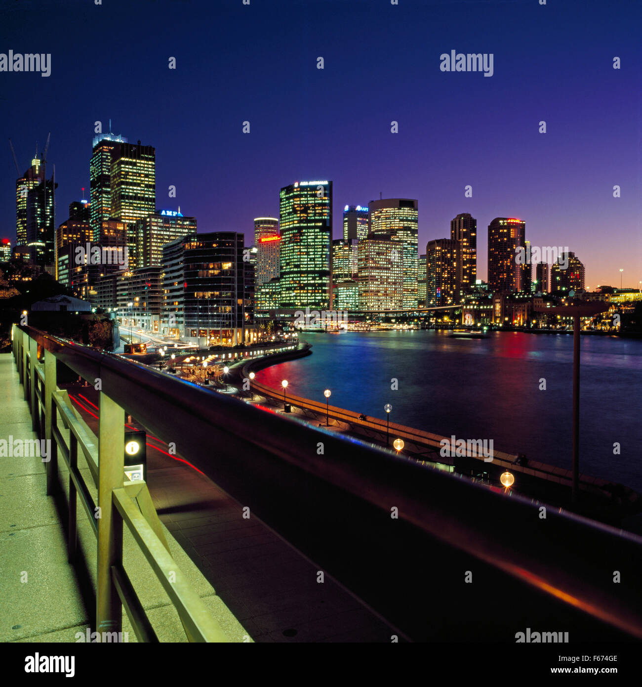 Circular Quay, Sydney - Stock Image
