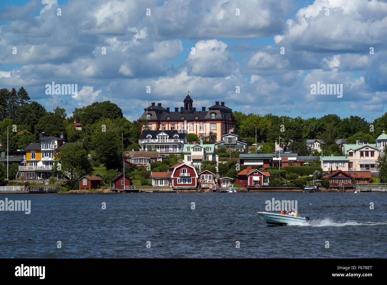 The Stockholm archipelago, Baltic Sea, Sweden - Stock Image