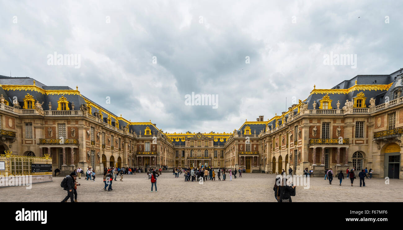Palace of Versailles, UNESCO World Heritage Site, Yvelines, Region Ile-de-France, France Stock Photo
