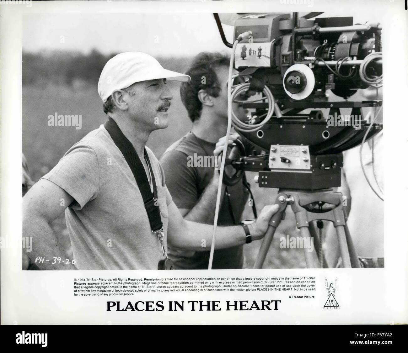 1984 - Nestor Almendros is the Director of Photography of Robert Benton's Places In The Heart. Academy Award - Stock Image
