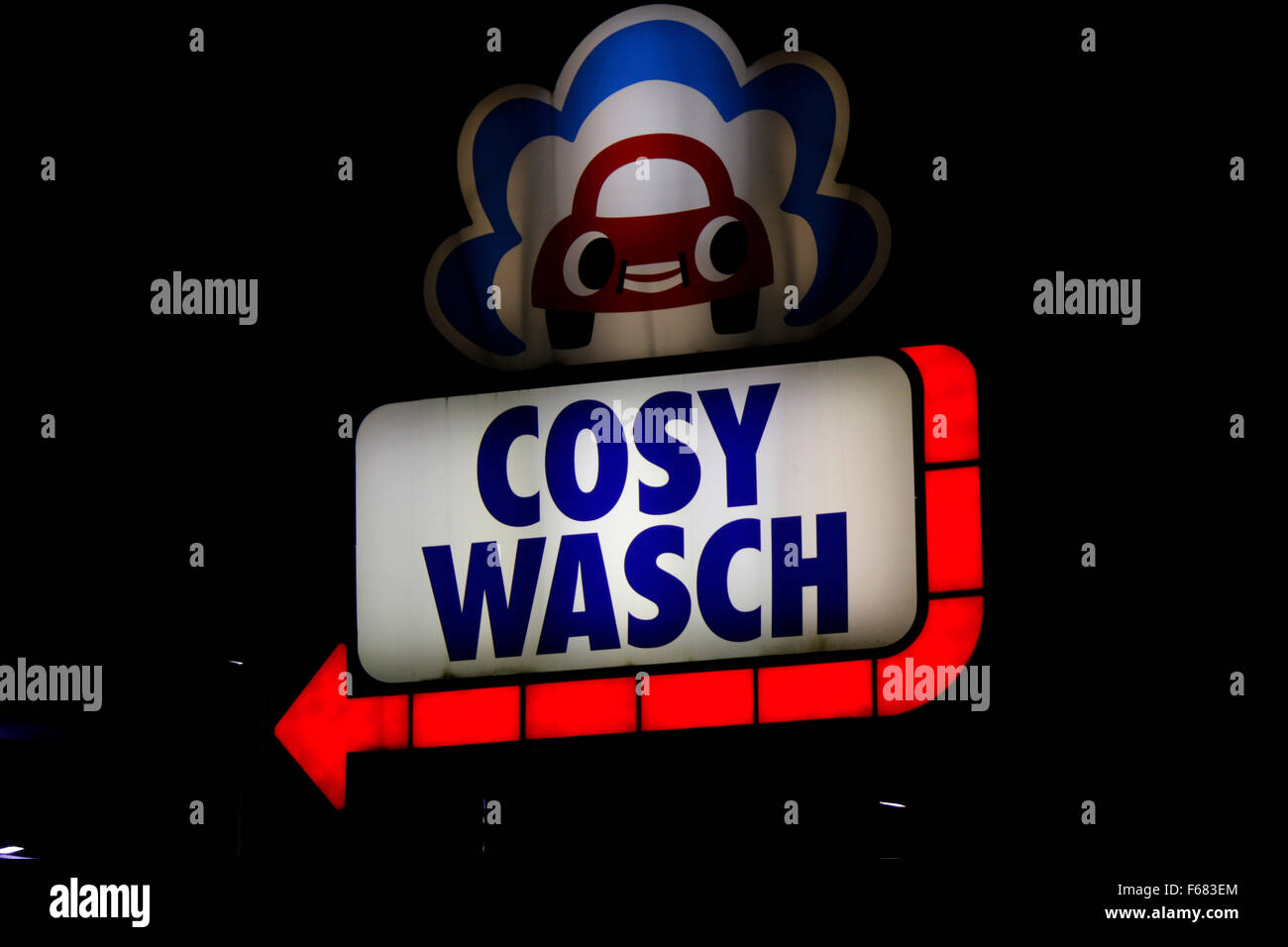 Markenname: 'Cosy Wasch', Berlin. - Stock Image