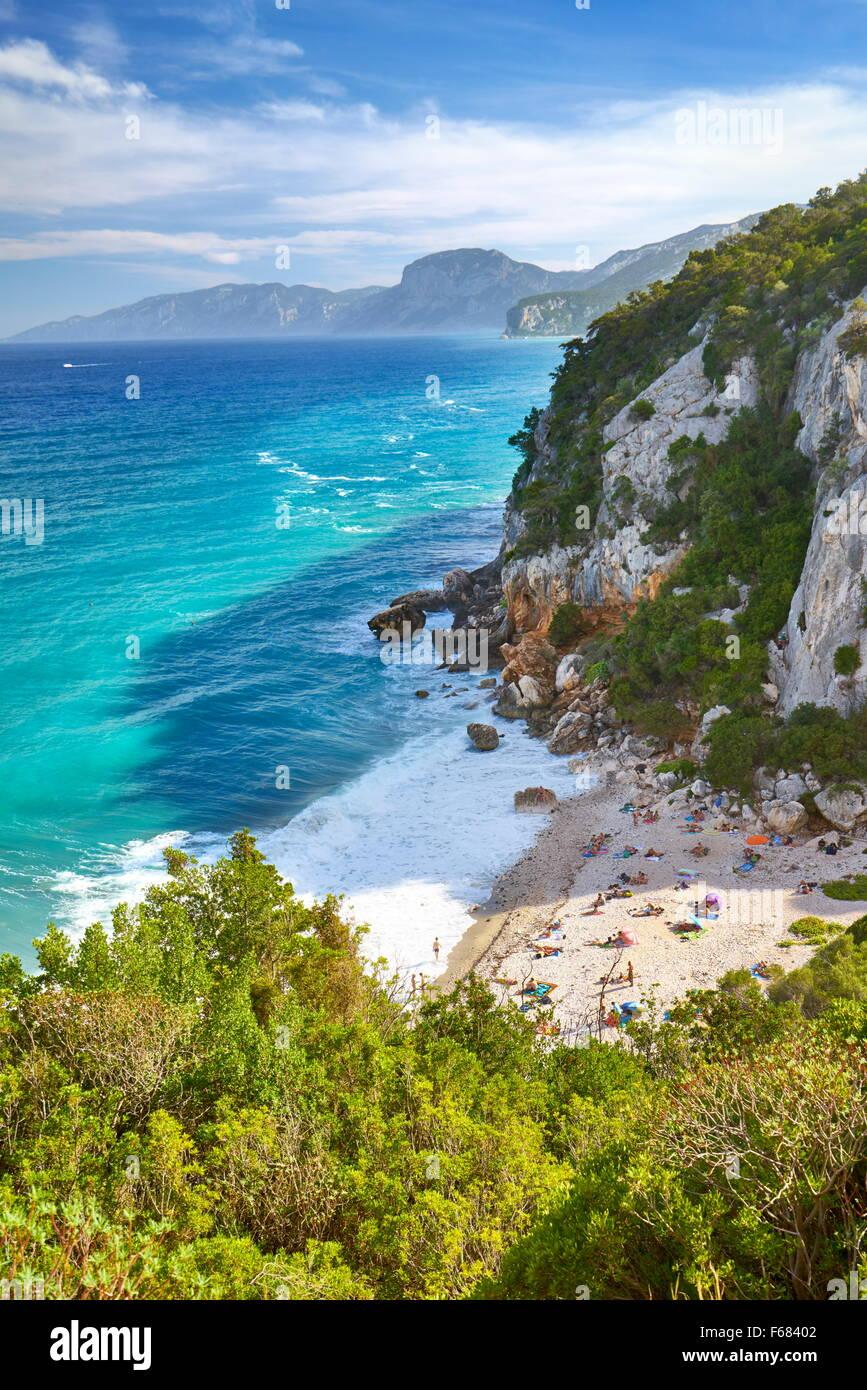 Cala Fuili, Gennargentu and Orosei Gulf National Park, Sardinia, Italy - Stock Image