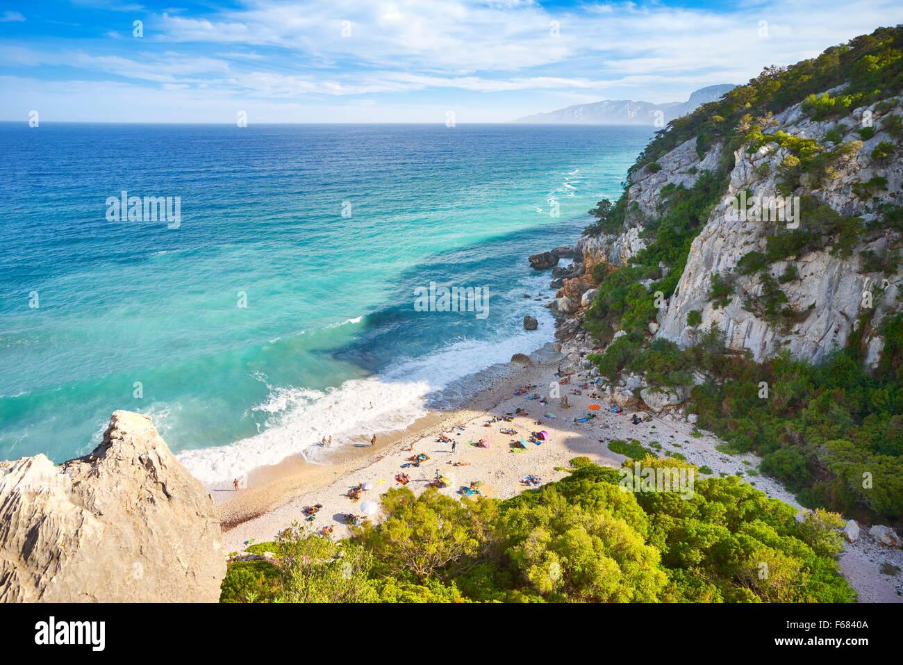 Gennargentu and Orosei Gulf National Park, Sardinia Island, Italy - Stock Image