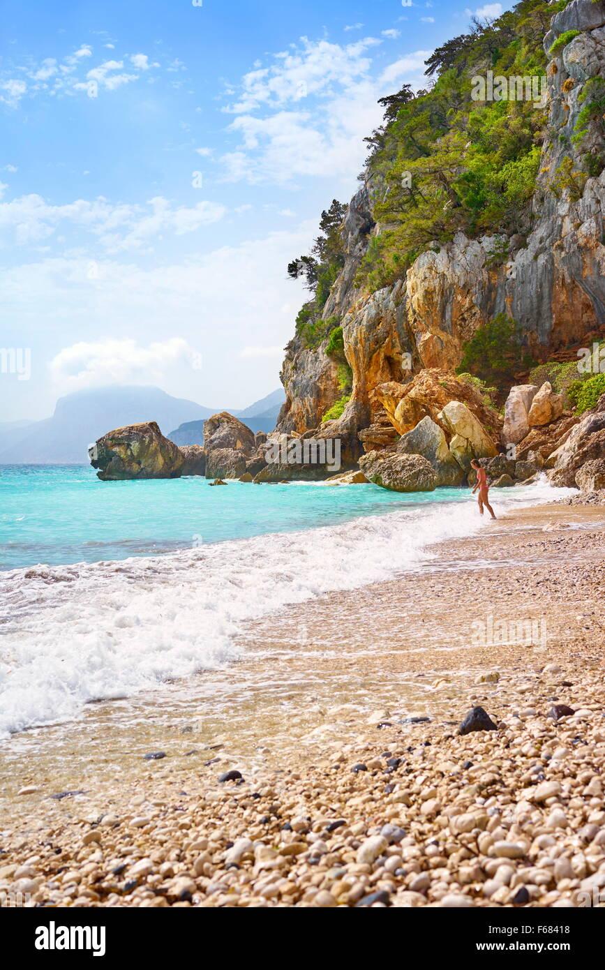 Sardinia Island - Gennargentu and Orosei Gulf National Park, Sardinia, Italy Stock Photo