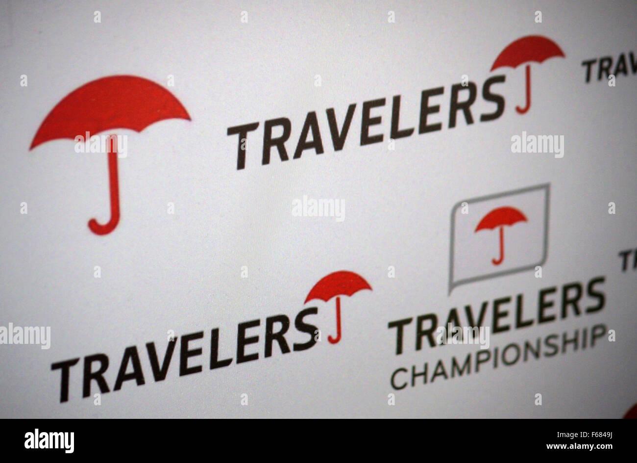 Markenname: 'Travelers', Dezember 2013, Berlin. - Stock Image
