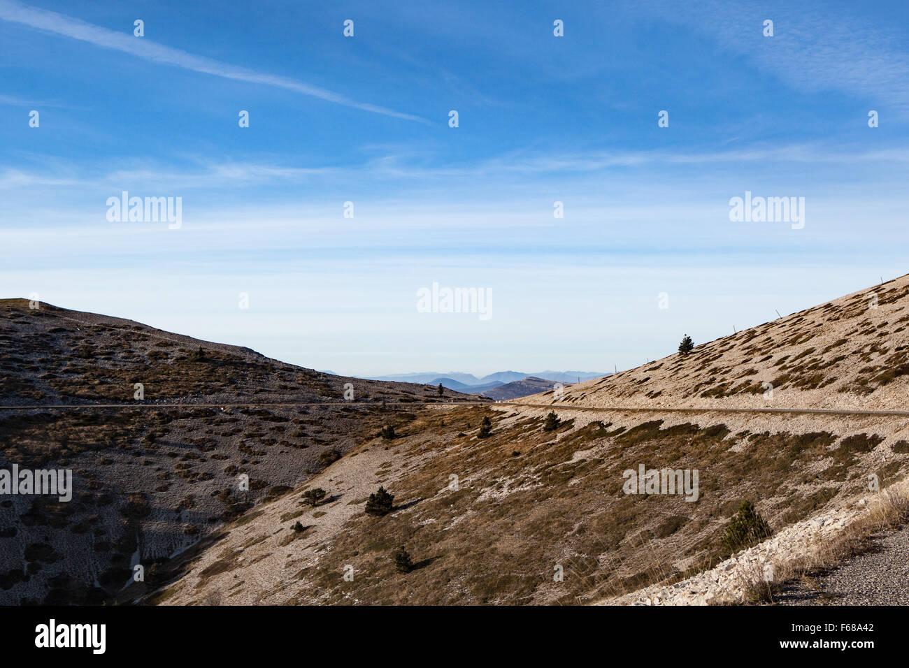 La Montagne de Lure (Alpes de Haute-Provence,Provence,France) - Stock Image