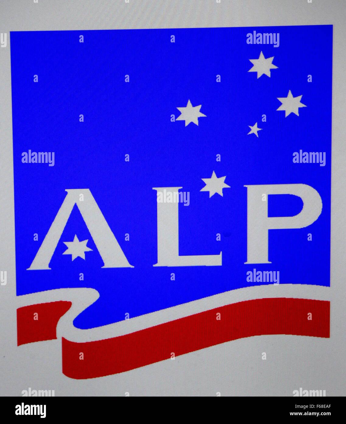 Markenname: 'ALP', Berlin. - Stock Image