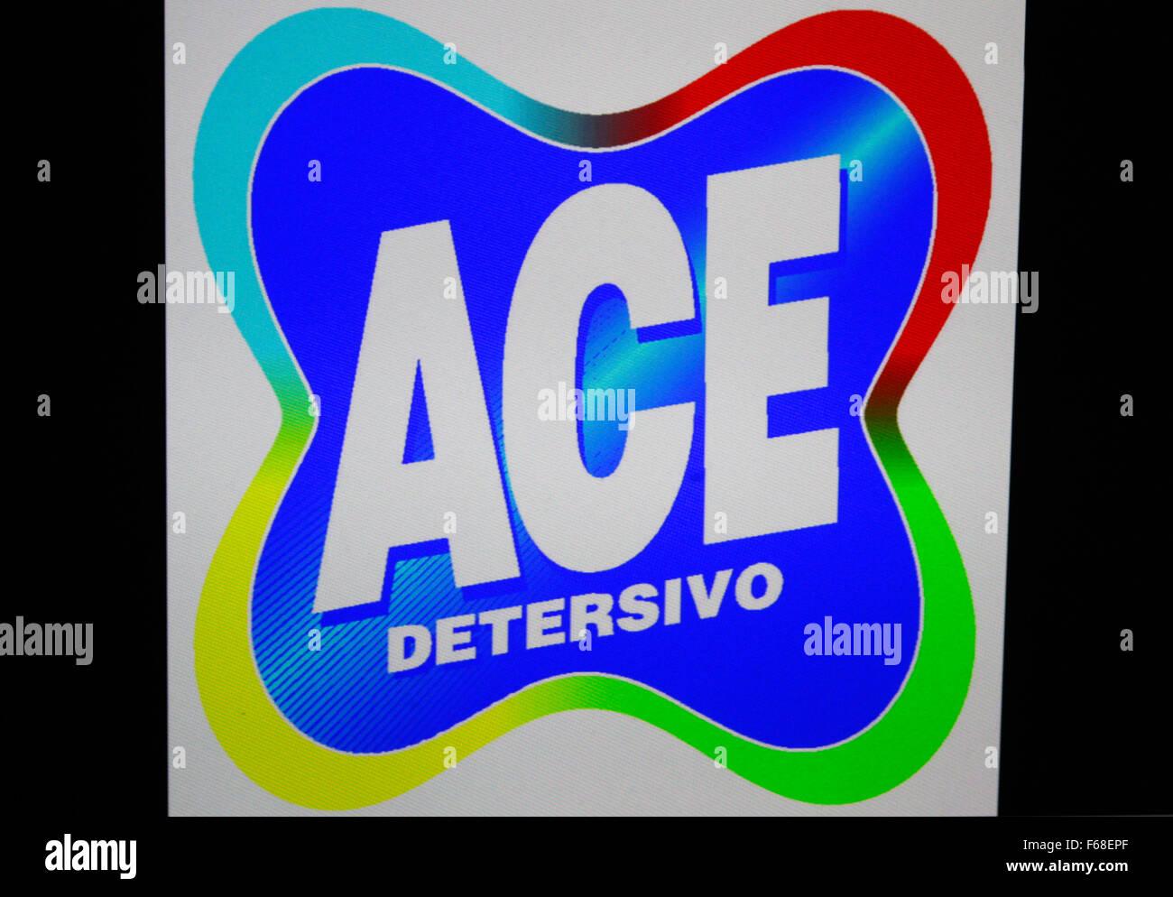 Markenname: 'Ace Detersivo', Berlin. - Stock Image