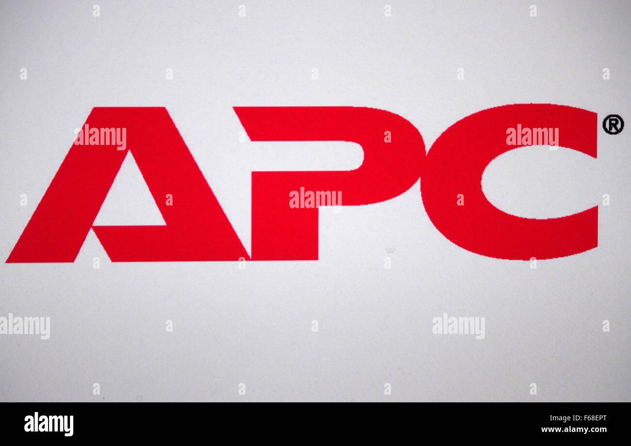 Markenname: 'APC', Berlin. - Stock Image