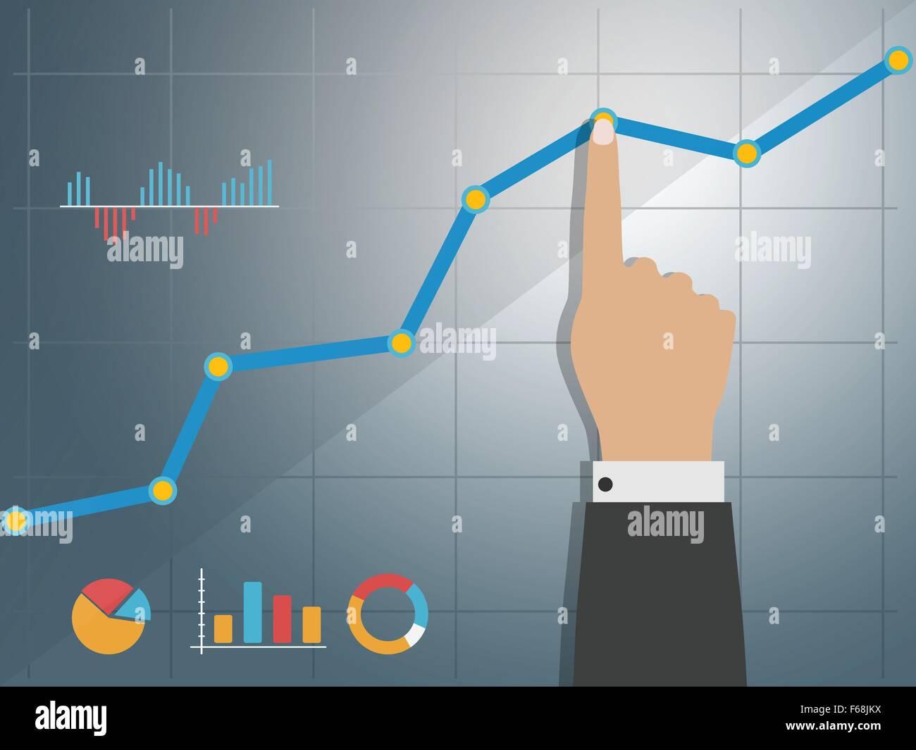 Economic Growth Stock Vector Images - Alamy