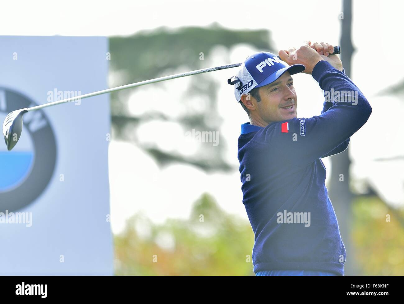 Shanghai, China. 14th November, 2015. JULIEN QUESNE of France during the round 3 of BMW Masters at Lake Malaren - Stock Image