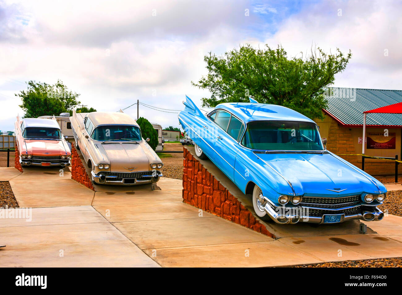 Cadillac Ranch Amarillo Tx Stock Photos & Cadillac Ranch