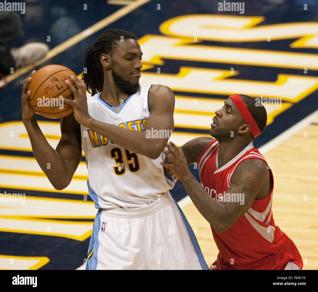 Denver Nuggets Stock Photos And Pictures: Denver Nuggets Kenneth Faried Grabs Stock Photos & Denver