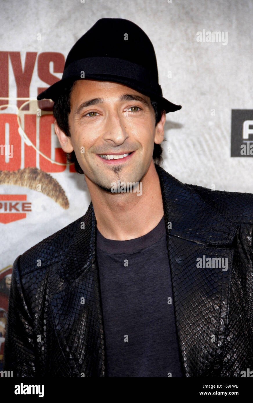 Adrien Brody at the 2010 Guys Choice Awards held at the Sony Pictures Studios in Culver City, California, Unite - Stock Image